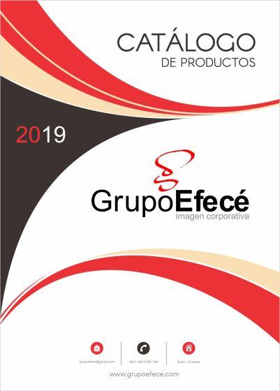 Portada Catálogo Grupo Efece